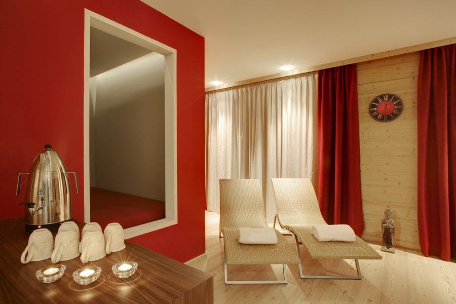 Sauna finlandese e bagno turco hotel marebbe dolomiti hotel